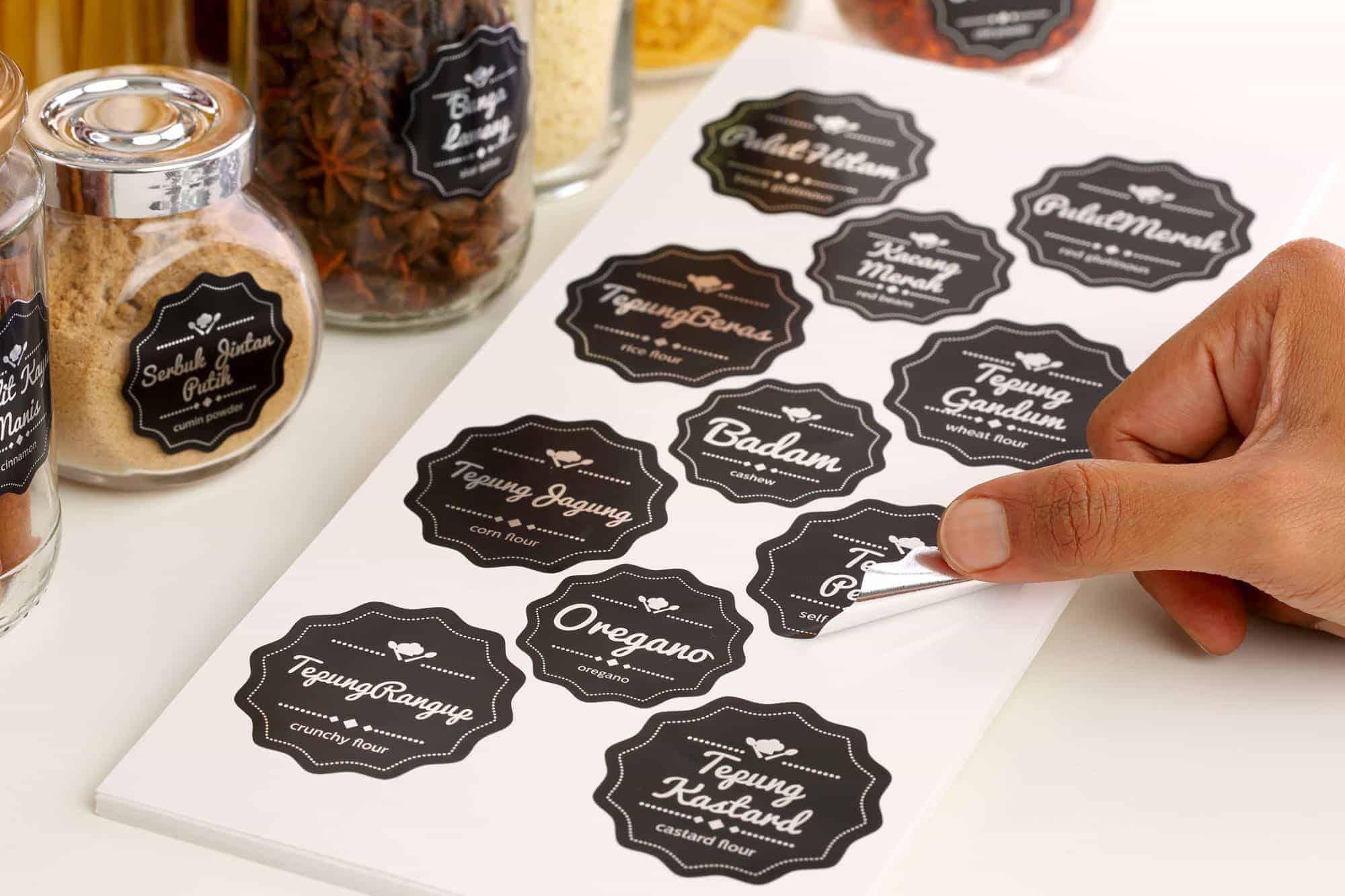 Sticker Dapur