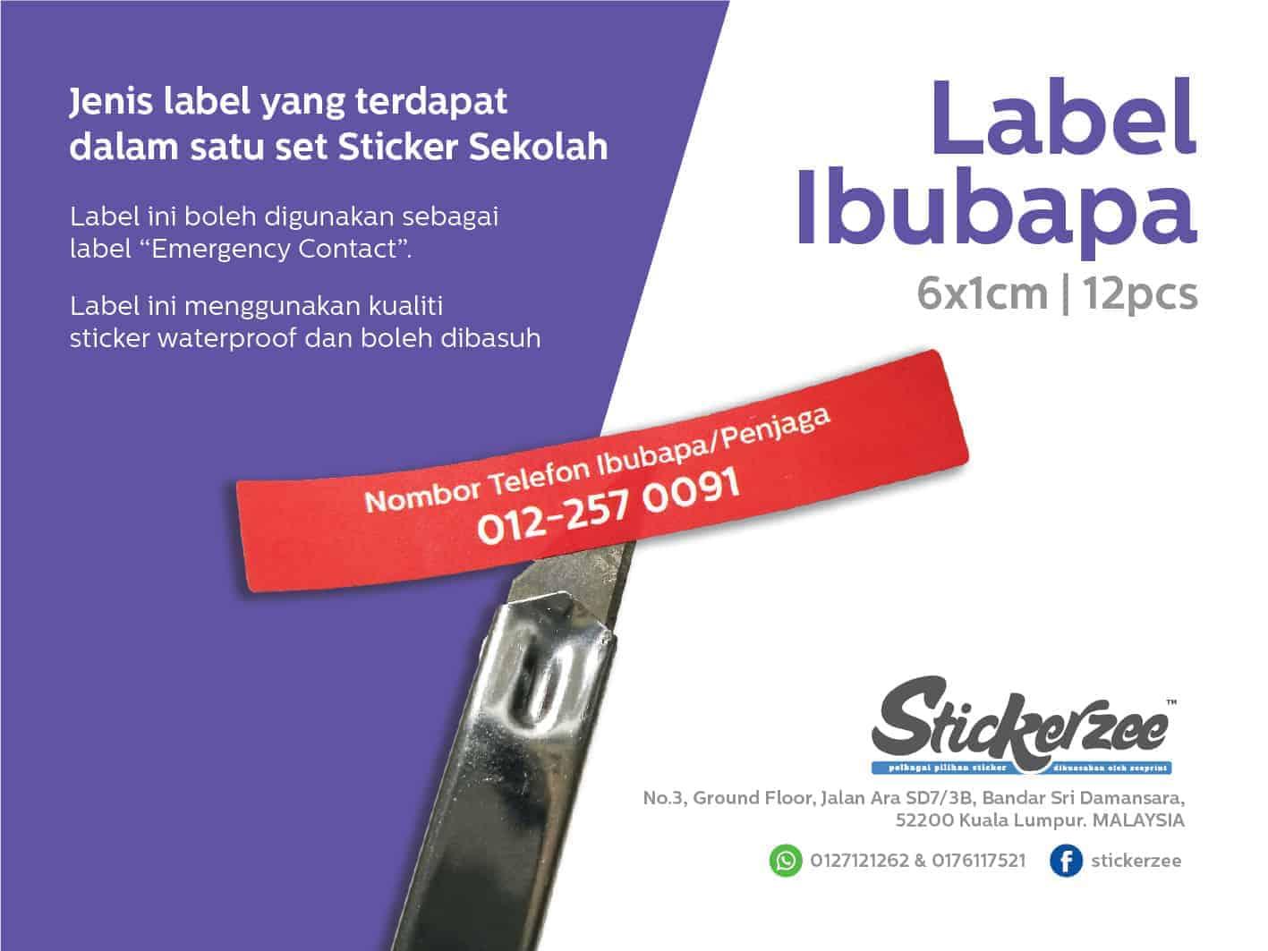 Sticker No Telefon