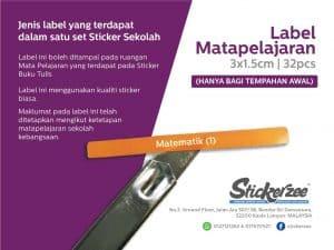 Sticker Subjek