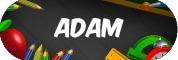 Sticker Sekolah 2019 - Adam
