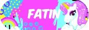 Sticker Sekolah 2019 - Fatin