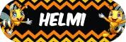 Sticker Sekolah 2019 - Helmi