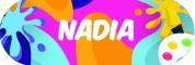Sticker Sekolah 2019 - Nadia