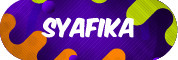 Sticker Sekolah 2019 - Syafika