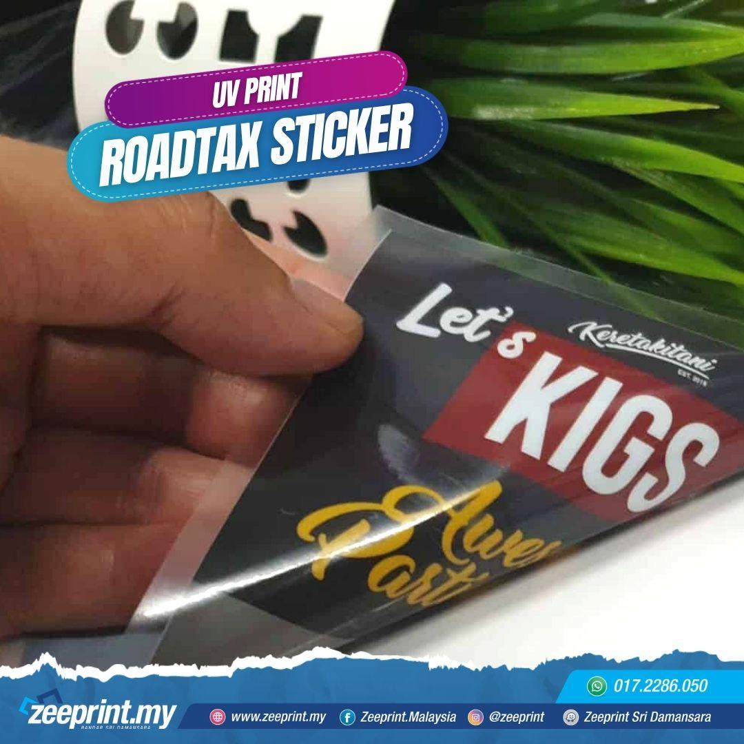 Roadtax-Sticker-Zeeprint