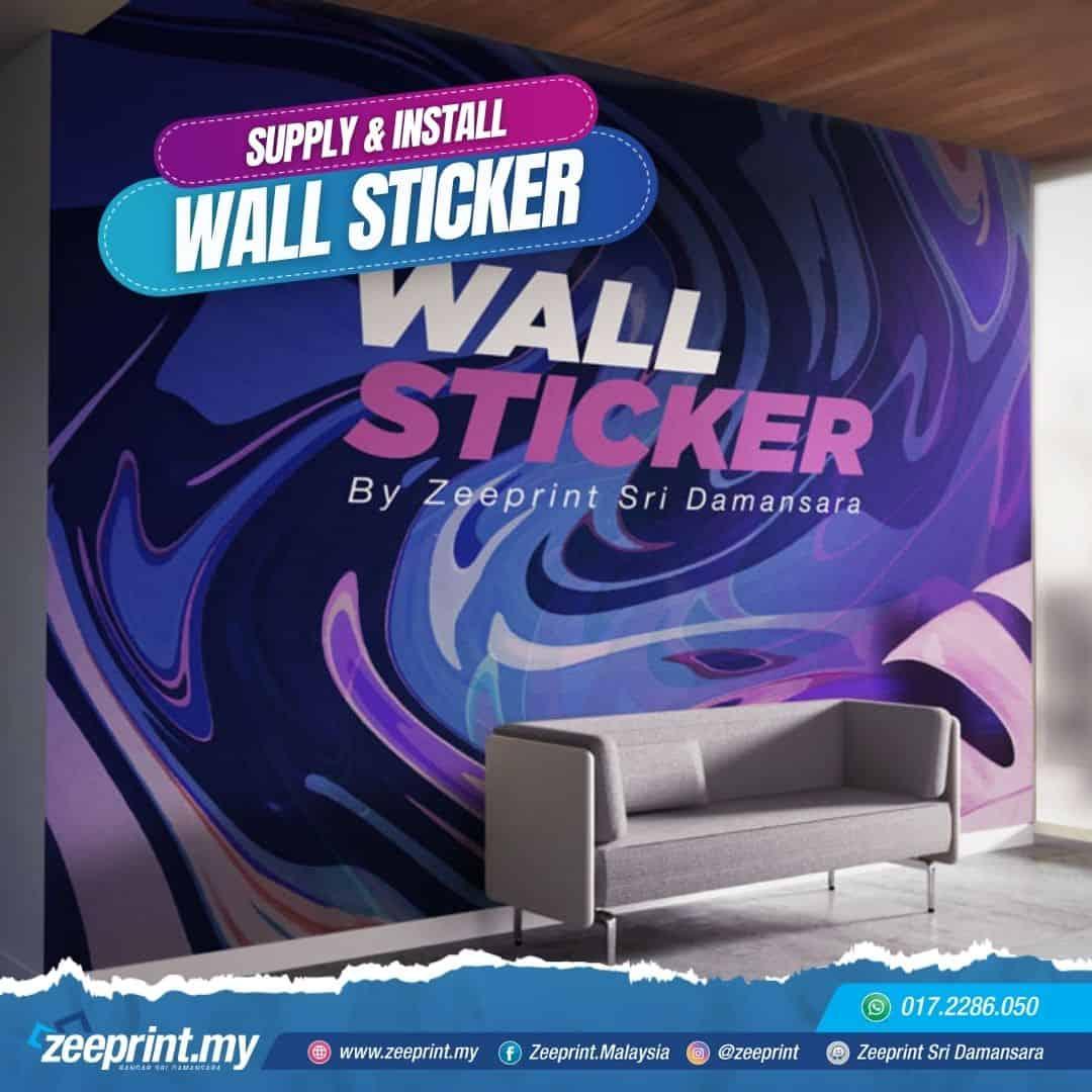 Wall Sticker Zeeprint