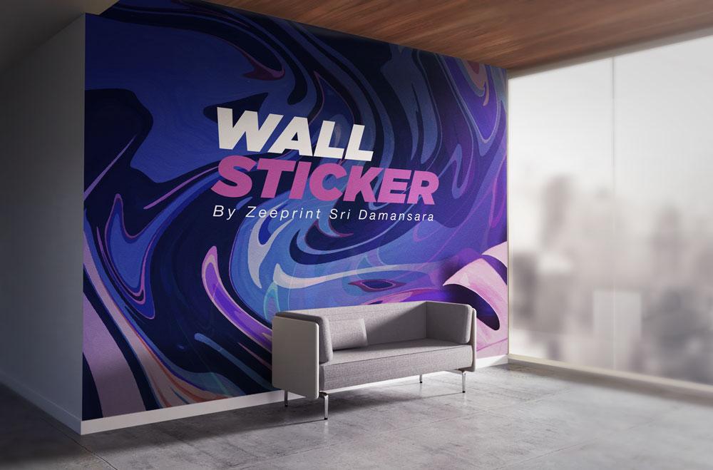 Wall Sticker By Zeeprint