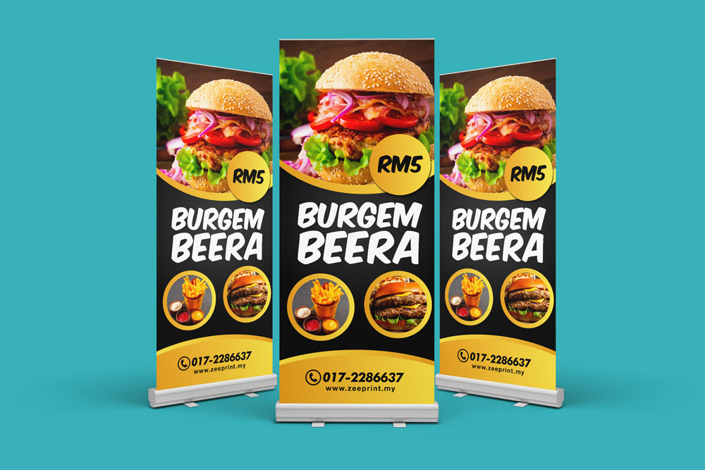 Rollup Stand Printing